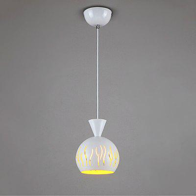 Simple Iron Personality Single Head Pendant Light 220V