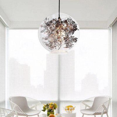 Nordic Simple Art Glass Pendant Light 220VPendant Light<br>Nordic Simple Art Glass Pendant Light 220V<br><br>Battery Included: No<br>Bulb Base: E27<br>Bulb Included: No<br>Chain / Cord Adjustable or Not: Chain / Cord Adjustable<br>Chain / Cord Length ( CM ): 50cm<br>Features: Eye Protection<br>Fixture Height ( CM ): 28cm<br>Fixture Length ( CM ): 28cm<br>Fixture Width ( CM ): 28cm<br>Light Direction: Downlight<br>Number of Bulb: 1 Bulb<br>Number of Bulb Sockets: 1<br>Package Contents: 1 x Light, 1 x Assembly Parts<br>Package size (L x W x H): 38.00 x 38.00 x 38.00 cm / 14.96 x 14.96 x 14.96 inches<br>Package weight: 3.0300 kg<br>Product weight: 2.0000 kg<br>Remote Control Supported: No<br>Shade Material: Stainless Steel, Glass<br>Style: Modern/Contemporary<br>Suggested Room Size: 10 - 15?<br>Suggested Space Fit: Bedroom,Dining Room,Kids Room,Kitchen,Office,Study Room<br>Type: Pendant Light<br>Voltage ( V ): 220V