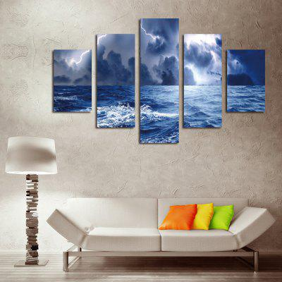5PCS Storm Waves at Sea Printed Canvas Wall StickerWall Stickers<br>5PCS Storm Waves at Sea Printed Canvas Wall Sticker<br><br>Art Style: Oil Paiting<br>Functions: Decorative Wall Stickers<br>Hang In/Stick On: Bedrooms,Cafes,Hotels,Living Rooms,Offices<br>Material: Canvas<br>Package Contents: 5 x Storm Waves at Sea Printed Canvas Wall Sticker<br>Package size (L x W x H): 42.00 x 6.00 x 6.00 cm / 16.54 x 2.36 x 2.36 inches<br>Package weight: 0.4200 kg<br>Product size (L x W x H): 150.00 x 80.00 x 0.10 cm / 59.06 x 31.5 x 0.04 inches<br>Product Type: Art Print<br>Product weight: 0.3600 kg<br>Subjects: Landscape