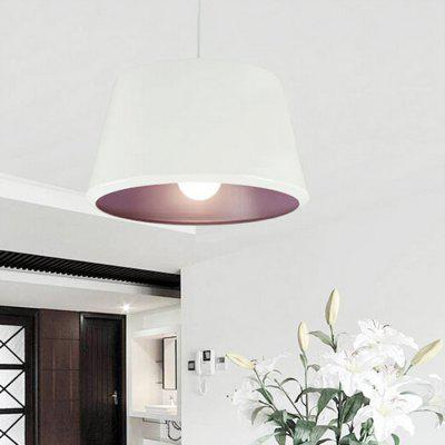 Nordic Simple Cylinder Aluminum Pendant Light 220VPendant Light<br>Nordic Simple Cylinder Aluminum Pendant Light 220V<br><br>Battery Included: No<br>Bulb Base: E27<br>Bulb Included: No<br>Chain / Cord Adjustable or Not: Chain / Cord Adjustable<br>Chain / Cord Length ( CM ): 120cm<br>Features: Eye Protection<br>Fixture Height ( CM ): 28cm<br>Fixture Length ( CM ): 32cm<br>Fixture Width ( CM ): 32cm<br>Light Direction: Downlight<br>Number of Bulb: 1 Bulb<br>Number of Bulb Sockets: 1<br>Package Contents: 1 x Light, 1 x Assembly Parts<br>Package size (L x W x H): 42.00 x 42.00 x 35.00 cm / 16.54 x 16.54 x 13.78 inches<br>Package weight: 4.0300 kg<br>Product weight: 3.0000 kg<br>Remote Control Supported: No<br>Shade Material: Hardware, Aluminum<br>Style: Modern/Contemporary<br>Suggested Room Size: 20 - 30?<br>Suggested Space Fit: Bedroom,Boys Room,Cafes,Dining Room,Kitchen,Living Room,Office,Study Room<br>Type: Pendant Light<br>Voltage ( V ): 220V