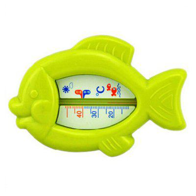 Buy GREEN Baby Bath Cartoon Fish Shape Water Thermometer Toy for $2.43 in GearBest store