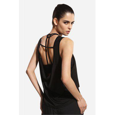 Women Backless Quick-dry Yoga Sports Tank TopYoga<br>Women Backless Quick-dry Yoga Sports Tank Top<br><br>Color: Black,White<br>Features: Quick Dry, Breathable, High elasticity<br>Gender: Female<br>Material: Polyester<br>Package Content: 1 x Yoga Tank<br>Package size: 35.00 x 25.00 x 2.00 cm / 13.78 x 9.84 x 0.79 inches<br>Package weight: 0.1750 kg<br>Product weight: 0.1400 kg<br>Size: L,M,S<br>Type: Vest<br>Types 1: Yoga Tanks