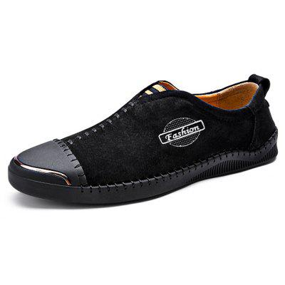Modern Business Slip-on Stitching Oxford Chaussures pour hommes