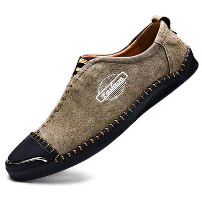 Modern Business Slip-on Stitching Oxford Shoes para homens