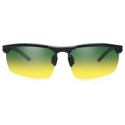8550 Night Vision Half-frame Polarized Lens Cycling Glasses