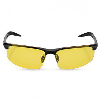 8177 Night Vision Half-frame Polarized Lens Cycling Glasses
