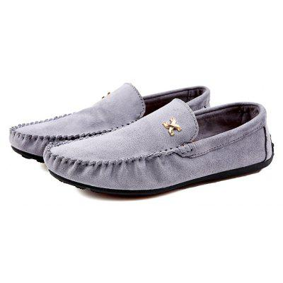 Male Casual Stitching Slip On Doug Boat Oxford