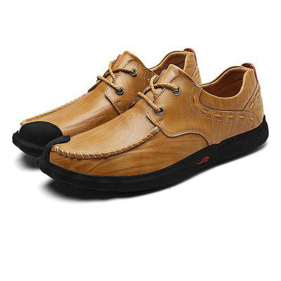 Classic Slip Resistance Stitching Oxford Chaussures pour hommes