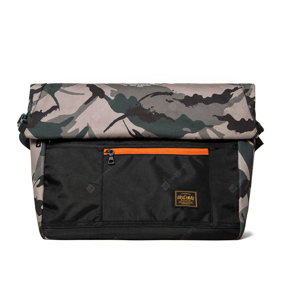 Outdoor Casual Camouflage Messenger Bag para homens