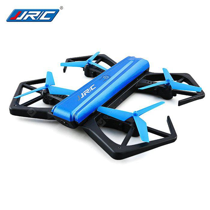 JJRC H43WH Mini Foldable RC Selfie Drone - BNF - BLUE WITH ONE BATTERY
