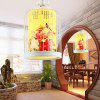 Chinese Bird Cage Retro Iron Hanglamp 220V - COLORMIX