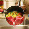 High-quality Silicone Strainer Kitchen Gadget - RED