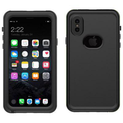 IP68 Waterproof Dust-proof Phone Case Cover for iPhone X