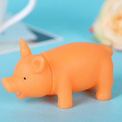 Piggy Pattern Silicone Jumbo Squishy Squeeze Vent Toy