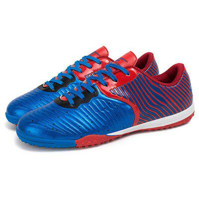 Male Steel Spike Bottom Slip Resistance Soccer Athletic Shoes