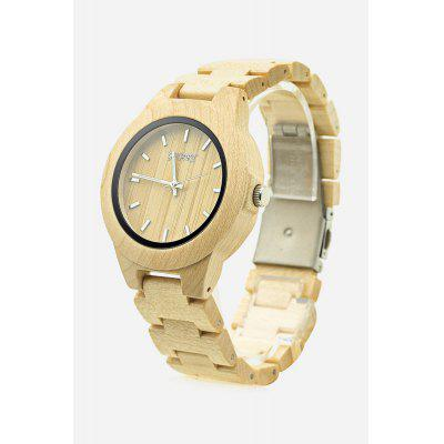 GNART Male Maple Case Quartz Watch