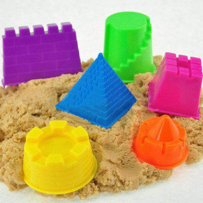 6PCS Plastic Sand Beach Toy