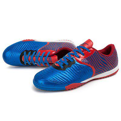 Male Steel Spike Bottom Slip Resistance Soccer ShoesAthletic Shoes<br>Male Steel Spike Bottom Slip Resistance Soccer Shoes<br><br>Closure Type: Lace-Up<br>Contents: 1 x Pair of Shoes<br>Decoration: Split Joint,Stripe<br>Function: Slip Resistant<br>Lining Material: Mesh<br>Materials: Rubber, PU, Mesh<br>Occasion: Casual, Soccer, Sports<br>Outsole Material: Rubber<br>Package Size ( L x W x H ): 25.00 x 18.00 x 11.00 cm / 9.84 x 7.09 x 4.33 inches<br>Package Weights: 0.87kg<br>Pattern Type: Stripe<br>Seasons: Autumn,Spring<br>Style: Modern, Leisure, Comfortable, Casual<br>Toe Shape: Round Toe<br>Type: Sports Shoes<br>Upper Material: PU