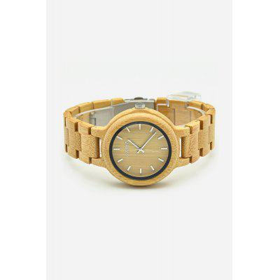 GNART Male Bamboo Case Quartz WatchMens Watches<br>GNART Male Bamboo Case Quartz Watch<br><br>Band material: Bamboo<br>Band size: 23 x 2cm<br>Brand: GNART<br>Case material: Bamboo<br>Clasp type: Sheet folding clasp<br>Dial size: 4.5 x 4.5 x 1.1cm<br>Display type: Analog<br>Movement type: Quartz watch<br>Package Contents: 1 x Watch, 1 x Box, 1 x Small Pillow, 1 x Disassembly Tool<br>Package size (L x W x H): 7.00 x 8.00 x 8.50 cm / 2.76 x 3.15 x 3.35 inches<br>Package weight: 0.1220 kg<br>Product size (L x W x H): 23.00 x 4.50 x 1.10 cm / 9.06 x 1.77 x 0.43 inches<br>Product weight: 0.0420 kg<br>Shape of the dial: Round<br>Watch mirror: Mineral glass<br>Watch style: Fashion<br>Watches categories: Men