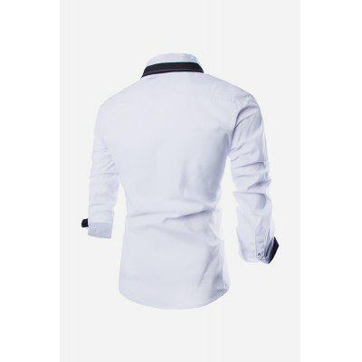 Men Casual Fashionable Classical Long Sleeve ShirtMens Shirts<br>Men Casual Fashionable Classical Long Sleeve Shirt<br><br>Material: Cotton<br>Package Contents: 1 x Men Shirt<br>Package size: 35.00 x 25.00 x 2.00 cm / 13.78 x 9.84 x 0.79 inches<br>Package weight: 0.2450 kg<br>Product weight: 0.2000 kg
