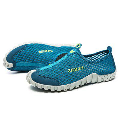 ZHJLUT Casual Mesh Light Weight Slip On ShoesCasual Shoes<br>ZHJLUT Casual Mesh Light Weight Slip On Shoes<br><br>Brand: ZHJLUT<br>Closure Type: Slip-On<br>Contents: 1 x Pair of Shoes<br>Decoration: Hollow Out<br>Function: Slip Resistant<br>Materials: matte-leather, Mesh, Rubber<br>Occasion: Daily, Shopping, Casual<br>Outsole Material: Rubber<br>Package Size ( L x W x H ): 31.00 x 21.00 x 11.00 cm / 12.2 x 8.27 x 4.33 inches<br>Package Weights: 0.68kg<br>Pattern Type: Letter<br>Seasons: Autumn,Spring,Summer<br>Style: Leisure, Casual, Comfortable<br>Toe Shape: Round Toe<br>Type: Flat Shoes<br>Upper Material: Leather,Mesh