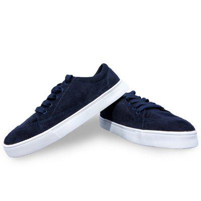 Male Casual Flat Cloth Walking Lace Up ShoesCasual Shoes<br>Male Casual Flat Cloth Walking Lace Up Shoes<br><br>Closure Type: Lace-Up<br>Contents: 1 x Pair of Shoes<br>Function: Slip Resistant<br>Materials: Fabric, Rubber<br>Occasion: Shopping, Holiday, Daily, Casual<br>Outsole Material: Rubber<br>Package Size ( L x W x H ): 33.00 x 22.00 x 11.00 cm / 12.99 x 8.66 x 4.33 inches<br>Package Weights: 0.98kg<br>Pattern Type: Solid<br>Seasons: Autumn,Spring<br>Style: Leisure, Comfortable, Casual<br>Toe Shape: Round Toe<br>Type: Flat Shoes<br>Upper Material: Cotton Fabric