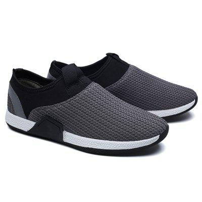 Male Stitching Split Joint Slip On Knitted Boat ShoesCasual Shoes<br>Male Stitching Split Joint Slip On Knitted Boat Shoes<br><br>Closure Type: Slip-On<br>Contents: 1 x Pair of Shoes<br>Decoration: Split Joint<br>Function: Slip Resistant<br>Materials: Woven Fabric, Rubber<br>Occasion: Casual, Daily, Holiday, Shopping<br>Outsole Material: Rubber<br>Package Size ( L x W x H ): 33.00 x 24.00 x 13.00 cm / 12.99 x 9.45 x 5.12 inches<br>Package Weights: 0.73kg<br>Seasons: Autumn,Spring<br>Style: Fashion, Comfortable, Casual<br>Toe Shape: Round Toe<br>Type: Flat Shoes<br>Upper Material: Woven Fabric