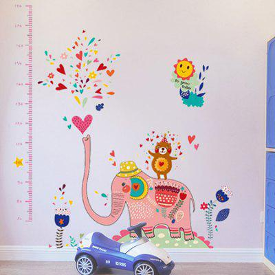 DSU Kids Room Elephant Spray Water Height StickerWall Stickers<br>DSU Kids Room Elephant Spray Water Height Sticker<br><br>Art Style: Plane Wall Stickers<br>Brand: DSU<br>Functions: Decorative Wall Stickers, Height Stickers<br>Hang In/Stick On: Bedrooms,Cafes,Hotels,Kids Room,Living Rooms<br>Material: Self-adhesive Plastic<br>Package Contents: 1 x Sticker<br>Package size (L x W x H): 60.00 x 5.00 x 5.00 cm / 23.62 x 1.97 x 1.97 inches<br>Package weight: 0.1700 kg<br>Product size (L x W x H): 60.00 x 90.00 x 0.10 cm / 23.62 x 35.43 x 0.04 inches<br>Product weight: 0.1300 kg<br>Subjects: Animal