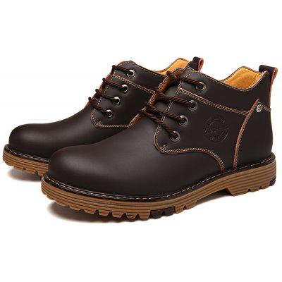 Casual Martin High Slip Resistance Lace Up Leather Boots