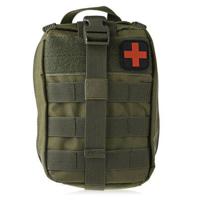 Water-resistant Nylon Tactical Emergency Pouch First Aids BagEmergency Shelter and First Aid<br>Water-resistant Nylon Tactical Emergency Pouch First Aids Bag<br><br>Features: Portable<br>Material: Nylon<br>Package Content: 1 x Emergency Pouch<br>Package Dimension: 22.00 x 16.00 x 12.00 cm / 8.66 x 6.3 x 4.72 inches<br>Package weight: 0.2940 kg<br>Product Dimension: 21.00 x 15.00 x 11.00 cm / 8.27 x 5.91 x 4.33 inches<br>Product weight: 0.2550 kg
