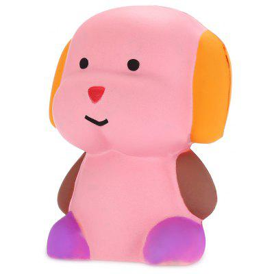 Buy COLORMIX Cute Cartoon Sitting Dog PU Foam Squishy Toy for $5.15 in GearBest store