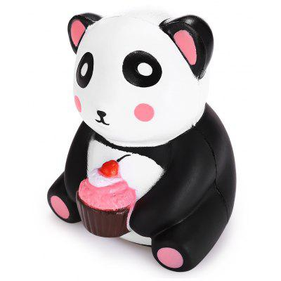 Cartoon Dessert Panda PU Foam Squishy Toy