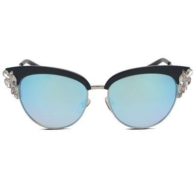 Fashion Style Cat Eye Unisex SunglassesStylish Sunglasses<br>Fashion Style Cat Eye Unisex Sunglasses<br><br>Frame material: Alloy<br>Functions: Windproof, Dustproof, UV Protection<br>Gender: For Unisex<br>Lens material: Resin<br>Package Contents: 1 x Sunglasses<br>Package size (L x W x H): 16.00 x 7.00 x 8.00 cm / 6.3 x 2.76 x 3.15 inches<br>Package weight: 0.0720 kg<br>Product weight: 0.0420 kg