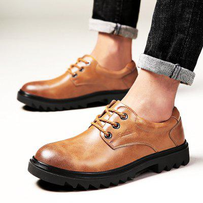 Male Slip Resistance Soft Lace Up Leather ShoesFormal Shoes<br>Male Slip Resistance Soft Lace Up Leather Shoes<br><br>Closure Type: Lace-Up<br>Contents: 1 x Pair of Shoes<br>Function: Slip Resistant<br>Materials: Rubber, Leather<br>Occasion: Office, Daily, Casual<br>Outsole Material: Rubber<br>Package Size ( L x W x H ): 33.00 x 22.00 x 11.00 cm / 12.99 x 8.66 x 4.33 inches<br>Package Weights: 0.98kg<br>Pattern Type: Solid<br>Seasons: Autumn,Spring<br>Style: Modern, Leisure, Fashion, Casual, Business<br>Toe Shape: Round Toe<br>Type: Casual Leather Shoes<br>Upper Material: Leather