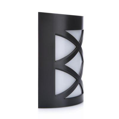 RUOCLN N763D European RGB IP55 Solar Wall LightOutdoor Lights<br>RUOCLN N763D European RGB IP55 Solar Wall Light<br><br>Battery Voltage: 1.2V<br>Color Temperature: 6000-6500K<br>Features: Waterproof<br>Light Type: Outdoor Light,Solar Light<br>Luminous Flux: 12Lm<br>Material: PC, ABS<br>Optional Light Color: White<br>Package Contents: 1 x Wall Light, 1 x Screw Kit<br>Package size (L x W x H): 11.00 x 6.50 x 13.00 cm / 4.33 x 2.56 x 5.12 inches<br>Package weight: 0.1700 kg<br>Powered Source: Solar<br>Product size (L x W x H): 10.00 x 5.40 x 11.10 cm / 3.94 x 2.13 x 4.37 inches<br>Product weight: 0.1140 kg<br>Total LED: 6