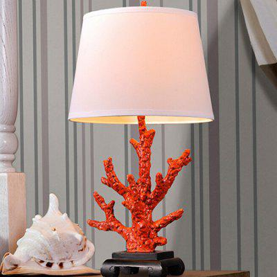 E27 Rural Style Tree Branch Shape Table Light 220V