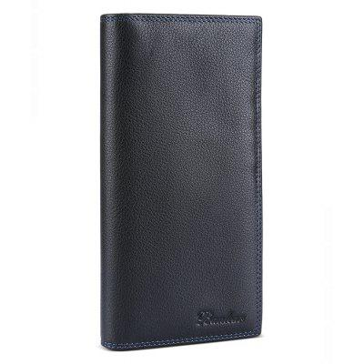 Buy BLACK Banlear Genuine Leather Men Wallet for $21.16 in GearBest store