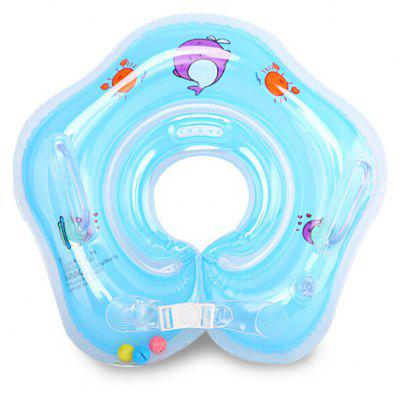 Baby Adjustable Inflatable Neck Float Swim Ring