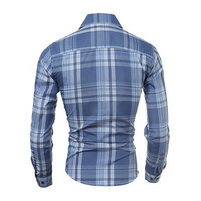Male Classic Long Sleeve Checked ShirtMens Shirts<br>Male Classic Long Sleeve Checked Shirt<br><br>Material: Cotton<br>Package Contents: 1 x Men Shirt<br>Package size: 35.00 x 25.00 x 2.00 cm / 13.78 x 9.84 x 0.79 inches<br>Package weight: 0.2900 kg<br>Product weight: 0.2500 kg