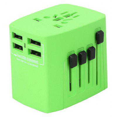4 USB Travel Power Adapter