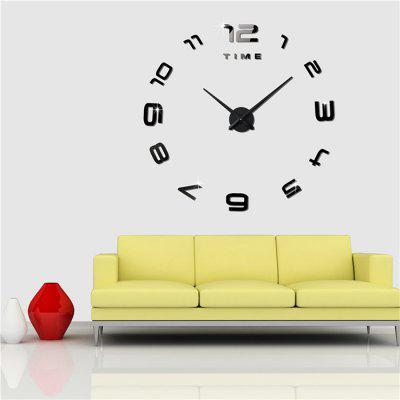 M.Sparkling 3M007 Creative DIY 3D Acrylic Figure Wall ClockClocks<br>M.Sparkling 3M007 Creative DIY 3D Acrylic Figure Wall Clock<br><br>Brand: M.Sparkling<br>Material: Acrylic<br>Model: 3M007<br>Package Contents: 1 x Wall Clock<br>Package size (L x W x H): 42.00 x 14.00 x 4.50 cm / 16.54 x 5.51 x 1.77 inches<br>Package weight: 0.5000 kg<br>Product size (L x W x H): 100.00 x 100.00 x 4.00 cm / 39.37 x 39.37 x 1.57 inches<br>Product weight: 0.3800 kg<br>Style: Fashion, Modern, Contemporary<br>Type: Wall Clock