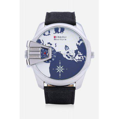 Dual Movt Retro Fashionable Cloth Band Men WatchMens Watches<br>Dual Movt Retro Fashionable Cloth Band Men Watch<br><br>Band material: Cloth<br>Band size: 24.5 x 2.5cm<br>Case material: Alloy<br>Clasp type: Pin buckle<br>Dial size: 5 x 5 x 1.5cm<br>Display type: Analog<br>Movement type: Quartz watch<br>Package Contents: 1 x Watch, 1 x Box<br>Package size (L x W x H): 8.50 x 8.00 x 5.30 cm / 3.35 x 3.15 x 2.09 inches<br>Package weight: 0.1650 kg<br>Product weight: 0.1100 kg<br>Shape of the dial: Round<br>Watch mirror: Acrylic<br>Watch style: Retro, Fashion<br>Watches categories: Men<br>Water resistance : 30 meters<br>Wearable length: 17.5 - 22cm
