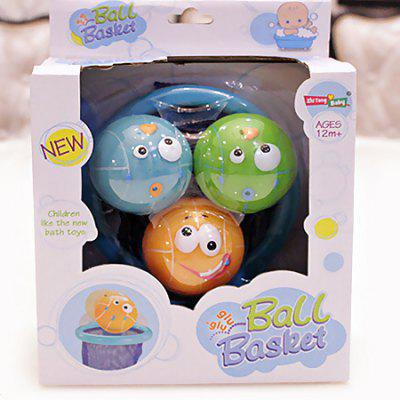 Squeeze Squirt Bathtime Basketball Toys with Ball Basket yt0286 italy 2013 luca renaissance wall map 1 new 0521