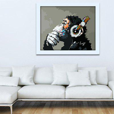Modern Print Gorilla Wall Decoration