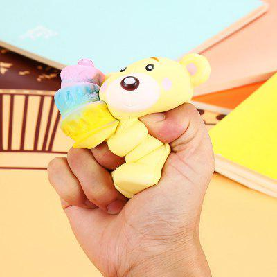 Cartoon Cake-holding Bear PU Foam Squishy ToySquishy toys<br>Cartoon Cake-holding Bear PU Foam Squishy Toy<br><br>Age Range: &gt; 3 years old<br>Color: Yellow<br>Materials: PU<br>Package Content: 1 x Squishy Toy<br>Package Dimension: 13.00 x 12.00 x 8.00 cm / 5.12 x 4.72 x 3.15 inches<br>Package Weights: 70g<br>Pattern Type: Animal<br>Product Dimension: 11.00 x 10.00 x 6.00 cm / 4.33 x 3.94 x 2.36 inches<br>Product Weights: 45g<br>Products Type: Squishy Toy<br>Use: Home Decoration, Art &amp; Collectible