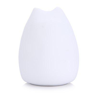 Cute Cat Sensitive Tap Control LED Children Night LightNovelty lighting<br>Cute Cat Sensitive Tap Control LED Children Night Light<br><br>Material: ABS<br>Package Contents: 1 x Night Light, 1 x USB Wire<br>Package size (L x W x H): 12.50 x 12.50 x 17.00 cm / 4.92 x 4.92 x 6.69 inches<br>Package weight: 0.3100 kg<br>Product size (L x W x H): 11.00 x 11.00 x 16.00 cm / 4.33 x 4.33 x 6.3 inches<br>Product weight: 0.2100 kg<br>Suitable for: Home Decoration, Night Light