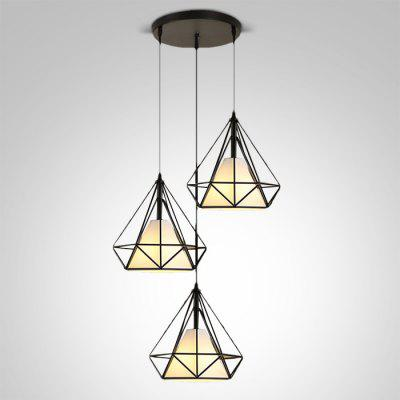 BRELONG Nordico Retro Ferro Arte LED Luce Pendente