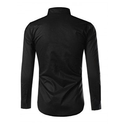 Button Down Long Sleeve Inner Contrast Shirt for MenMens Shirts<br>Button Down Long Sleeve Inner Contrast Shirt for Men<br><br>Material: Cotton, Polyester<br>Package Contents: 1 x Shirt<br>Package size: 40.00 x 30.00 x 2.00 cm / 15.75 x 11.81 x 0.79 inches<br>Package weight: 0.3300 kg<br>Product weight: 0.2500 kg