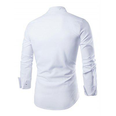 Casual Fashion Classical Long Sleeve ShirtMens Shirts<br>Casual Fashion Classical Long Sleeve Shirt<br><br>Material: Cotton<br>Package Contents: 1 x Men Shirt<br>Package size: 35.00 x 25.00 x 2.00 cm / 13.78 x 9.84 x 0.79 inches<br>Package weight: 0.2400 kg<br>Product weight: 0.2000 kg