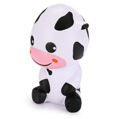 Cute Cartoon Baby Cow PU Foam Squishy Toy